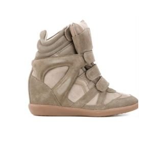 Isabel Marant Bekket Wedge High Top Sneakers